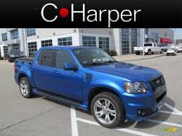 Ford Explorer Awd - 2010 blue flame metallic ford explorer sport trac adrenalin awd
