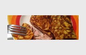 crepes hervé cuisine crêpe jambon fromage recette dukan pp par deborahdjamila