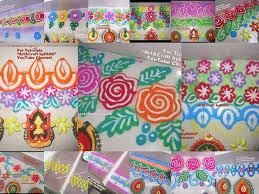 border rangoli design video tips for ganesh chaturthi u0026 navratri