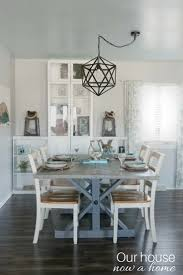 Coastal Dining Room Ideas Simple Coastal Inspired Tablescape U2022 Our House Now A Home