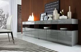 daytona modern grey gloss buffet buffets dining room