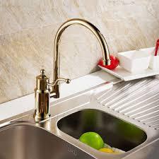 kitchen faucets uk antique brass finish special design gold kitchen faucet