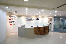 Circular Reception Desk Office Reception Counters Interior Design