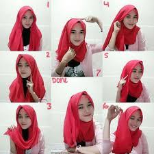 tutorial hijab pashmina untuk anak sekolah tutorial cara memakai kerudung dengan mudah jilbab instan