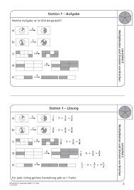 mathe brüche klasse 6 bruchrechnen arbeitsblätter sekundarstufe i lehrerbüro