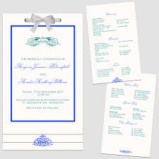 layered wedding programs b layered wedding programs s6 stewy s greetings