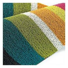 Chilewich Outdoor Rugs Chilewich Shag Bold Stripe Big Utility Door Mat Color Multi Indoor