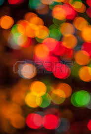 abstract festive lights background and new year bokeh