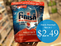 Powerball Map Finish Powerball Max In 1 Detergent Packs Just 2 49 At Kroger