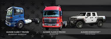 semi truck companies alternative fueled trucks alkane truck company