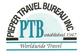 travel bureau pieper travel bureau inc home