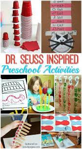 dr seuss birthday ideas dr seuss activities for preschoolers pre k pages