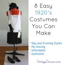 Halloween 20s Costumes 8 Easy 1920s Costumes 1920s Costumes Gatsby