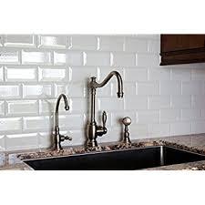 X Soft White Wide Beveled Subway Ceramic Tile Backsplashes Walls - Beveled subway tile backsplash