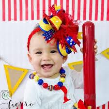 boutique hair bows buy cake smash circus birthday party big boutique hair bow