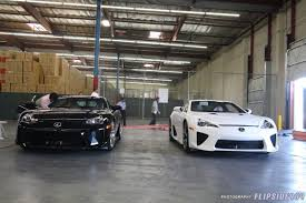 lexus whitest white exclusive the first production lfas arrive in the usa part 1