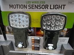 costco wireless motion sensor led lights excellent outdoor motion sensing security light outdoor motion