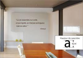 stickers ecriture chambre stickers citation de sénèque sur la vie pour déco de murs décorécébo
