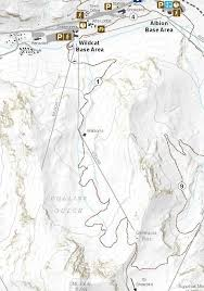 germania map germania pass hiking in alta alta utah discover alta