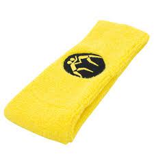 yellow headband wrestlingmart headband hats beanies wrestlingmart free shipping