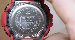 Harga Jam Tangan G Shock Original Di Indonesia review casio g shock ga 700 4a simerah yang tangguh dengan harga