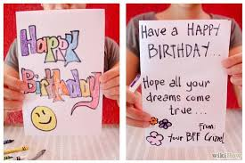 how to make a card out of paper and markers