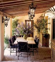 Porch Patio Furniture by Creating Tuscan Style In Your Backyard Outdoorlicious