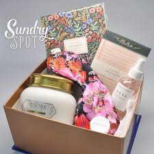 relaxation gift basket recharge bundle sundry spot