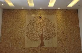 beautiful natural stone mural and wall cladding used on drawing