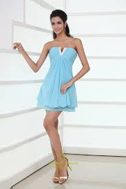 sweet light sky blue sweetheart mini prom dress light blue mini
