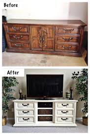 Computer Desk Tv Stand Combo 30 Creative And Easy Diy Furniture Hacks Tv Stand Makeover
