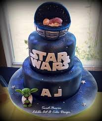 wars baby shower ideas wars baby shower cake by fabiana pinteres