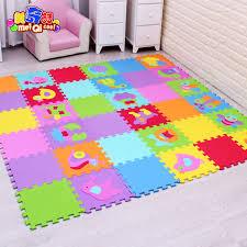 tappeti puzzle modello animale fumetto tappeto pavimento in schiuma