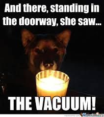 Saw Doll Meme - and there standing in the doorway she saw funny scary meme picture