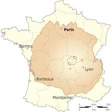 France Map Outline by Olympus Mons Mars Compared To France 1000x1000 Os Mapporn