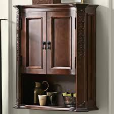 Wooden Bathroom Wall Cabinets Large Bathroom Wall Cabinets Aeroapp