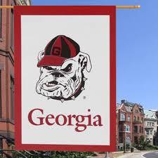 Georgia Bulldog Rugs Uga Lawn Decor Georgia Bulldogs Flags University Of Georgia