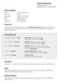animation cover letter resume for recommendation letter resume for your job application