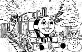 happy birthday thomas train coloring pages