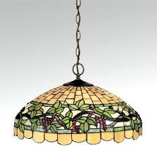 Stained Glass Ceiling Light Stained Glass Hanging L Shades 44247 Loffel Co
