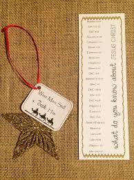 2012 Ornament Exchange Inkablinka - wise men still seek him relief society young women christmas gift