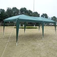 Steel Pop Up Gazebo Waterproof by 10 U0027 X 20 U0027 Ez Pop Up Folding Wedding Party Tent Cross Bar