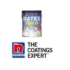 nippon paint matex gold 5l 11street malaysia paints u0026 accessories