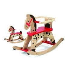 cuisine en bois jouet janod janod cheval à bascule caramel avec protection amovible jeux et