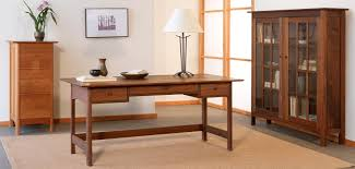 Desk Home Office Furniture Shaker Office Furniture Vermont Woods Studios