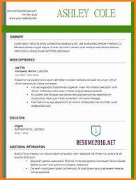 Photographer Resume Format 9 Latest Letter Format 2016 Ledger Paper