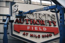 should sports authority give up its mile high stadium naming