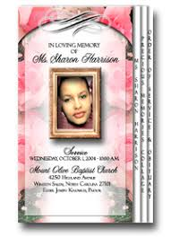 beautiful funeral programs r swinson funeral service kinston nc funeral home and cremation