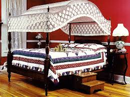 hand tied bedding arch fishnet bed canopies