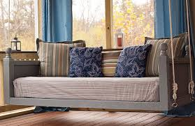 Daybed Porch Swing How To Make A Comfortable Daybed Porch Swing Jbeedesigns Outdoor